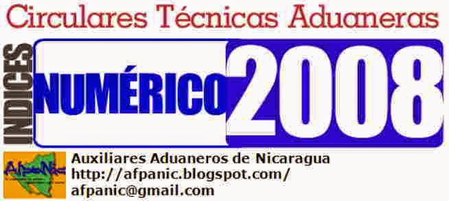 Aduana Nicaragua Circulares Técnicas