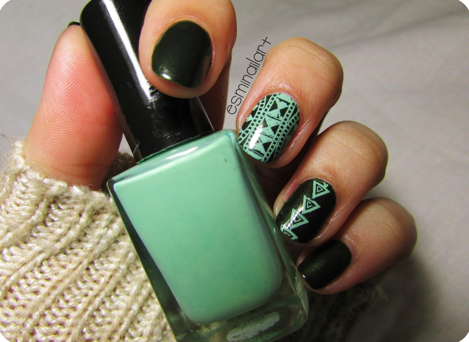 Mi nail art!: Nail art geométrico | Mundo de uñas