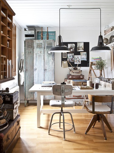 Industrial Style Home Office Furniture