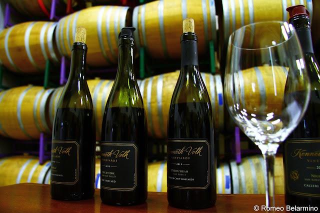 Kenneth Volk Wine Tasting Santa Maria Central Coast