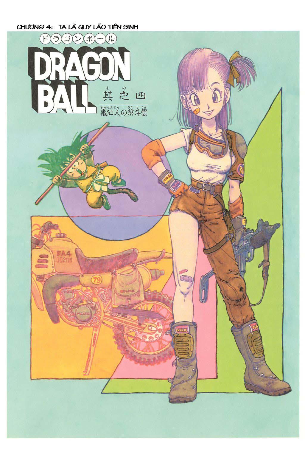 xem truyen moi - Dragon Ball Bản Vip - Bản Đẹp Nguyên Gốc Chap 4