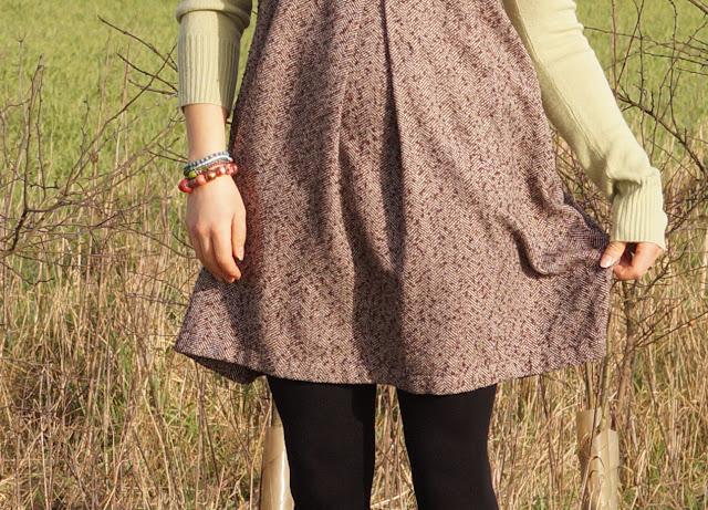 Pinafore sack dress