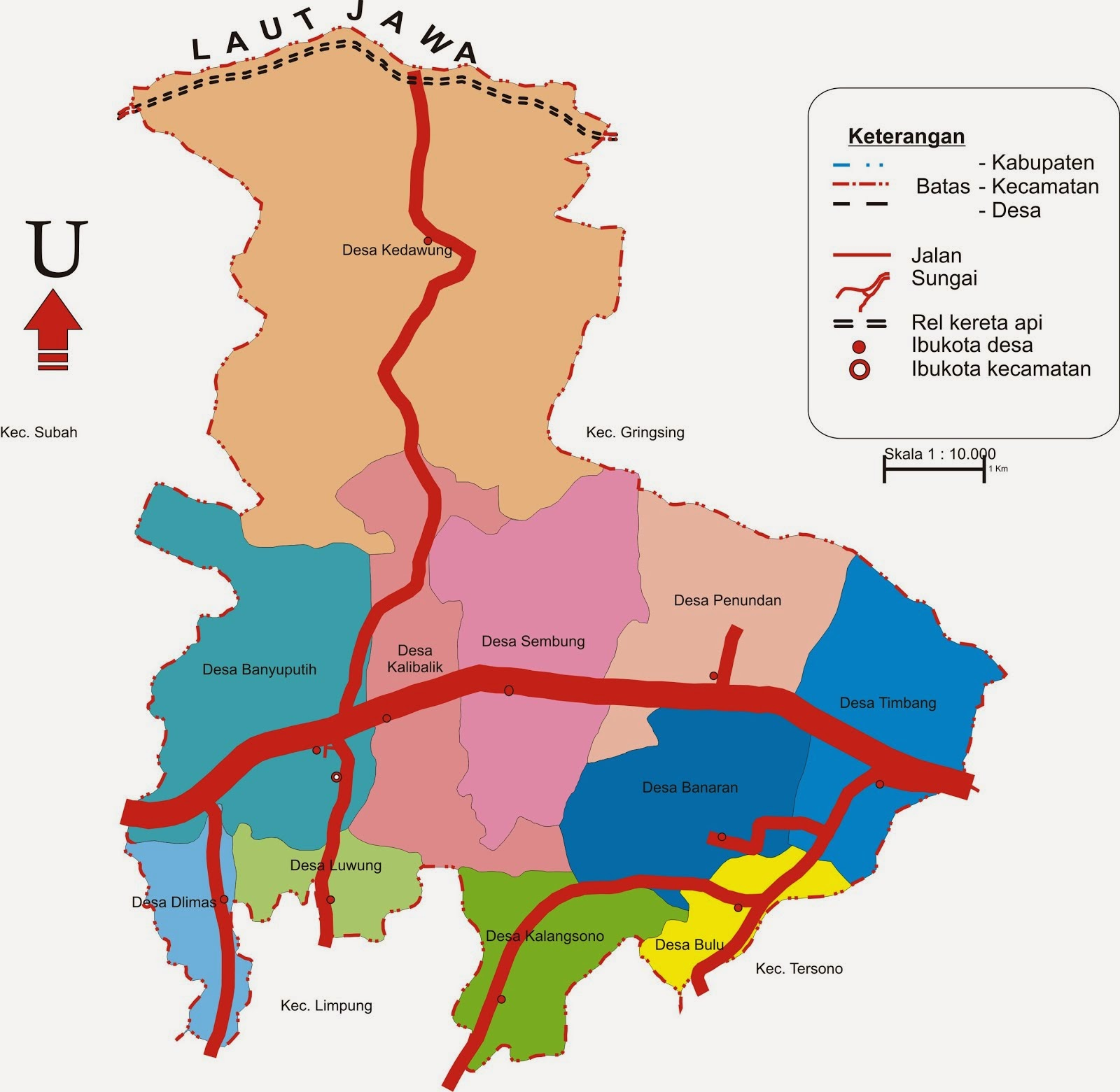 Kanto Kecamatan