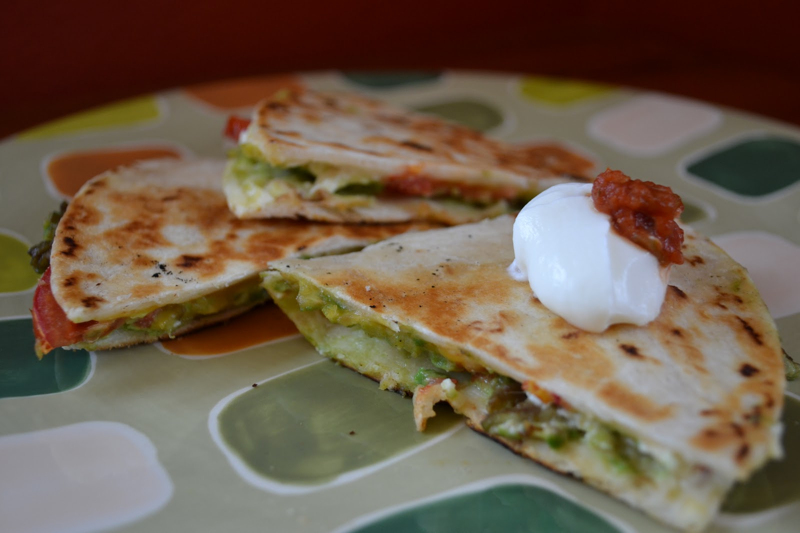 Food is a Blessing: Avocado Quesadillas
