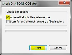 Unexpected Windows shutdown may cause to hard disc problems