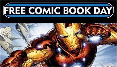 Iron Man wants to remind you about Free Comic Book Day