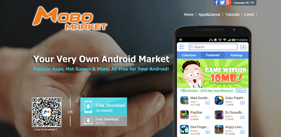 MoboMarket For PC Review
