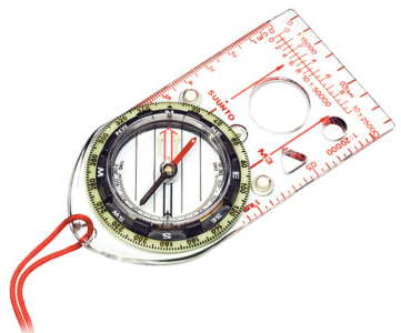 SUUNTO M‑3DL NH LEADER BASEPLATE COMPASS