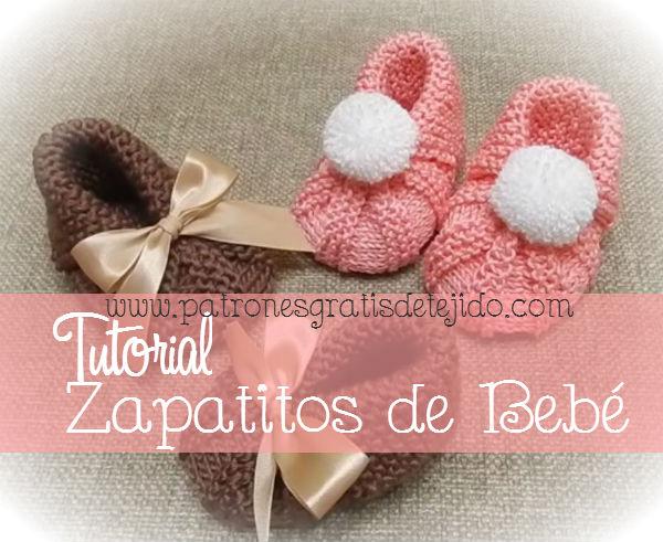 Aprende a tejer calzado de bebé con dos agujas
