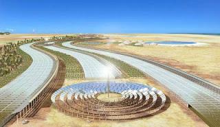 Teknologi 2013: Proyek Raksasa Tenaga Surya Di Eropa Tahun 2050