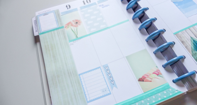 Filofax decoration
