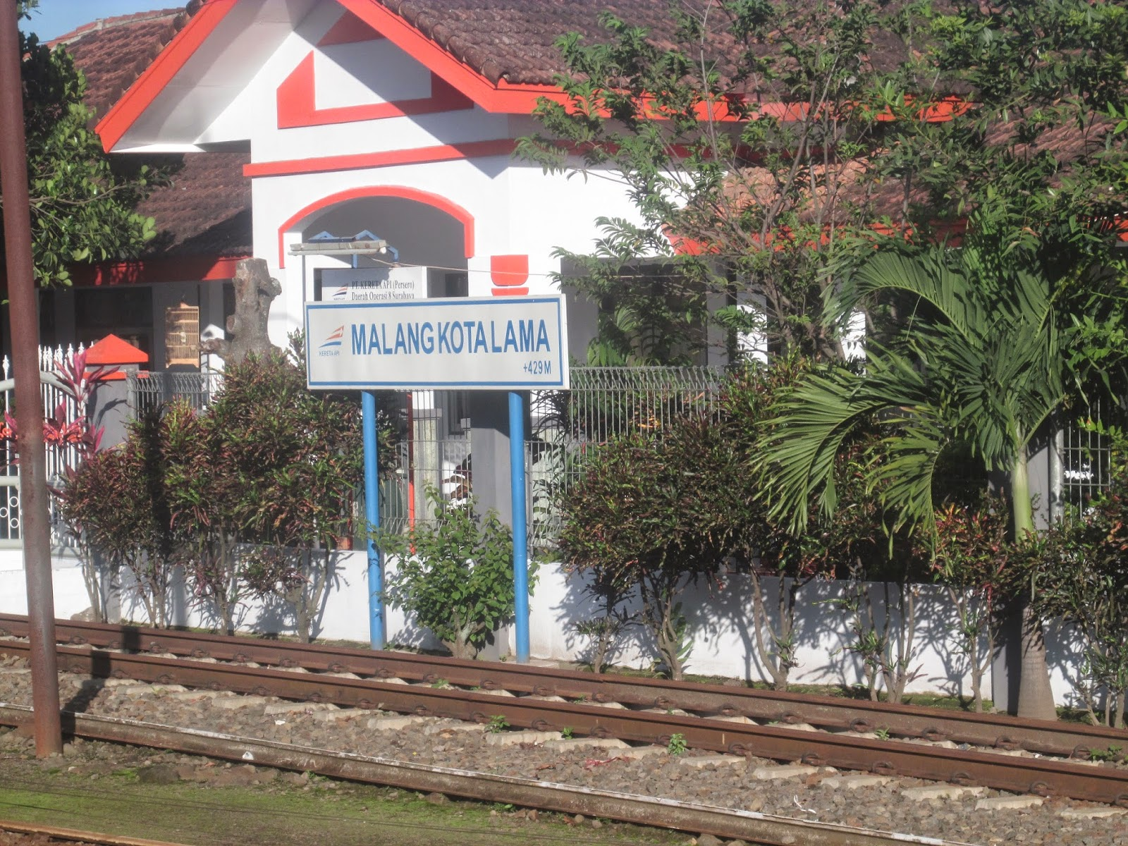 Malang Kota Lama Train Station