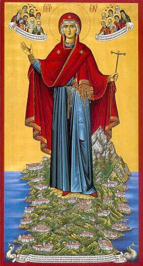 Panagia du Mont Athos