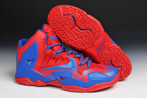 Nike Air Max LeBron James 9 PS ELITE BlueOrange Basketball Shoes
