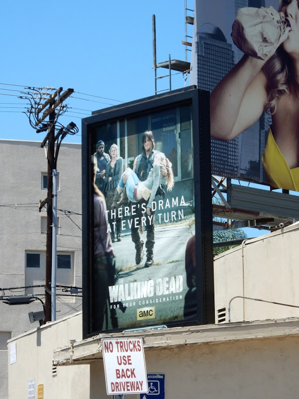 Walking Dead Emmy 2015 Daryl poster