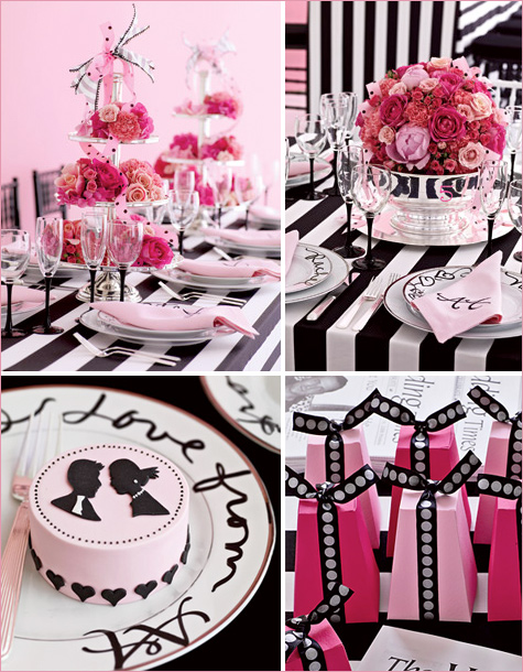 Varieties of pink Black