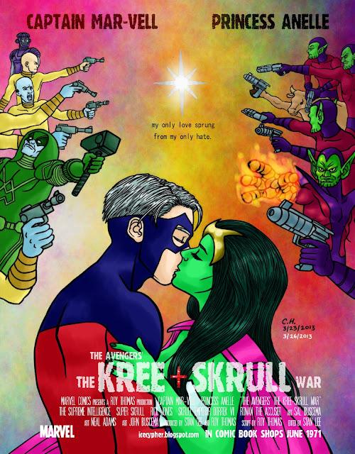 The Avengers' The Kree-Skrull War