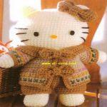 patron gratis hello kitty amigurumi, free amigurumi pattern hello kitty