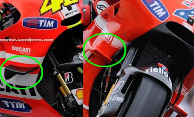 Apa Sih Fungsi Winglet Yang Menempel Di Motor Ducati Dan Yamaha Lorenzo ?