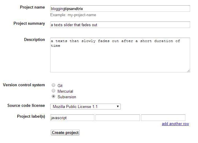 hosting js files to googlecode.com