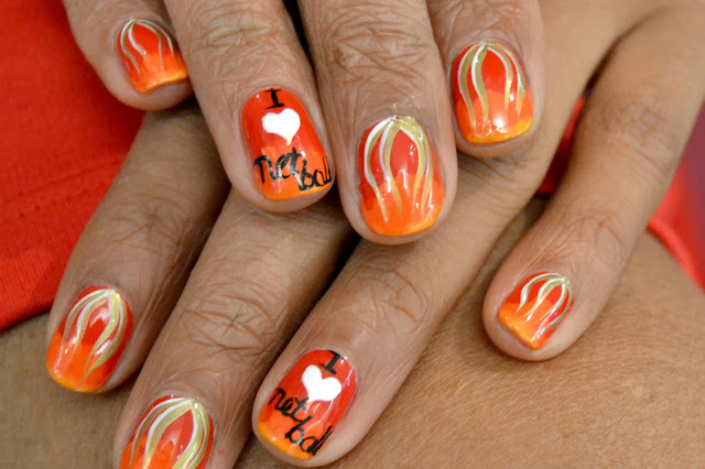 PART 2: Sophy Robson designs nail art for the English ...