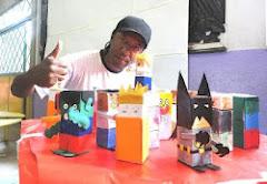 Valter Luis - Expondo seus Toy Arts
