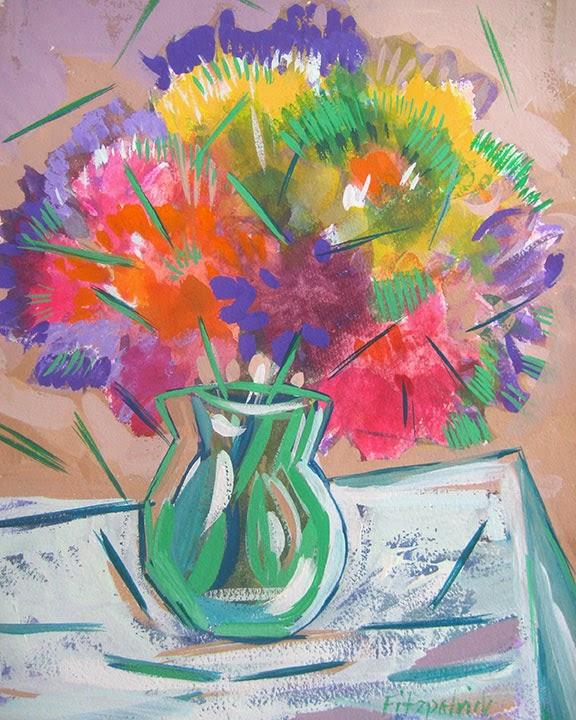 Cubist Bouquet by Char Fitzpatrick