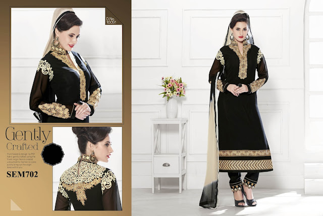 Buy Designer Embroidery Long Salwar Kameez