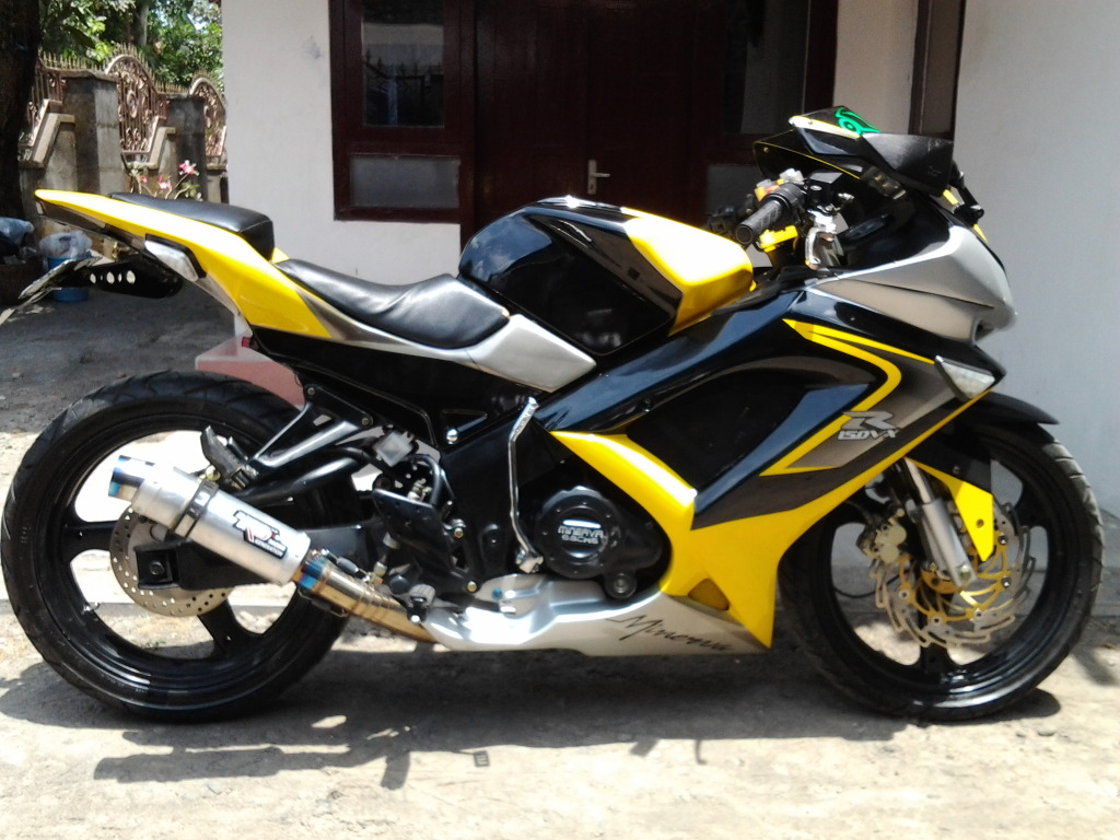 Modifikasi Minerva R 150 VX