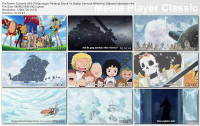 Download Film One Piece Episode 584 (Pertarungan Pedang! Brook Vs Badan Samurai Misterius) Bahasa Indonesia