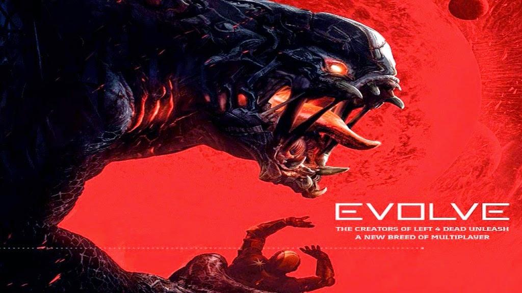 Evolve - Keygen Giveaway main screen
