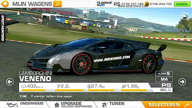 Real Racing 3 Apk + Data v3.5.2 MOD Full Money