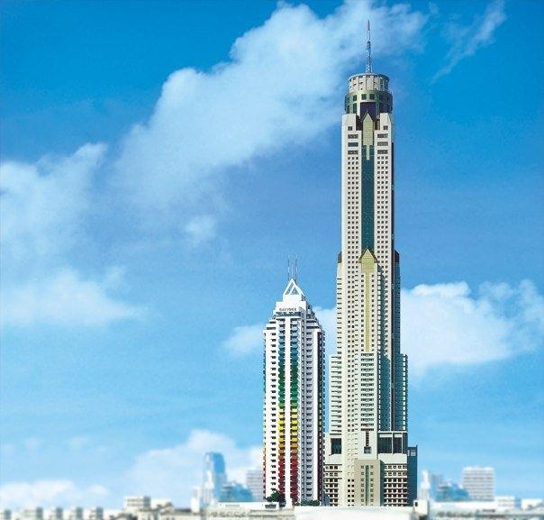 Bangkok thailand hotels baiyoke sky hotel bangkok thailand for Hotel bangkok