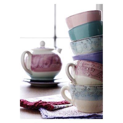 Dodatki do domu, ikea, kolorowy, porcelana, romantyczny, talerz, talerzyk, vintage, w kwiaty, kubek, filiżanka, zastawa stołowa, zastawa kuchenna, design, śliwiński,