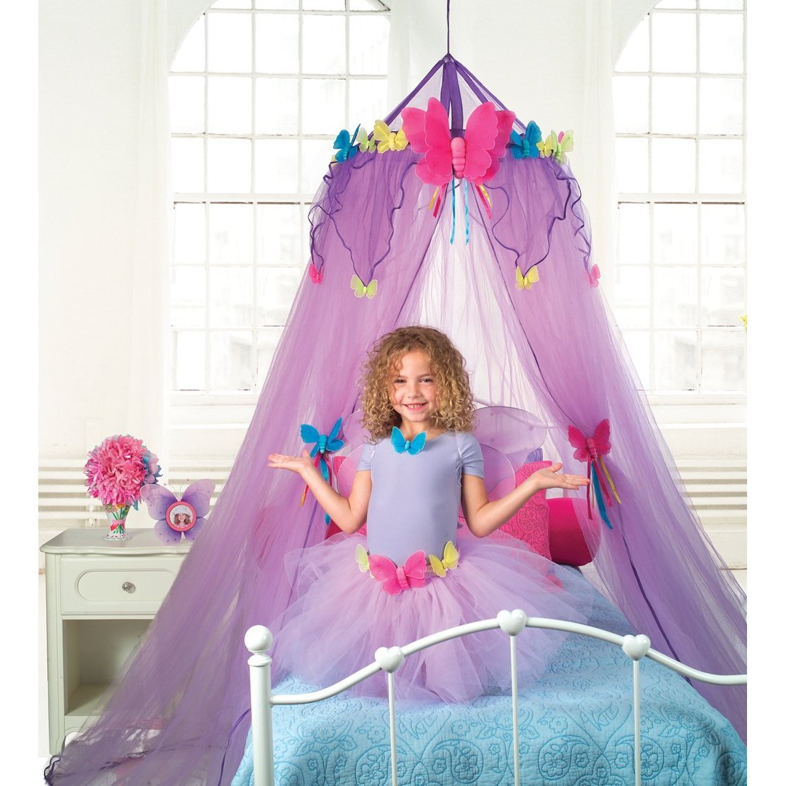 Bed canopy with fairy lights bangdodo - And To Dos Alex Toys Deal Including Butterfly Canopy For Twin Bed