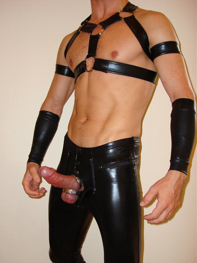 Sex with a guy in leather chaps