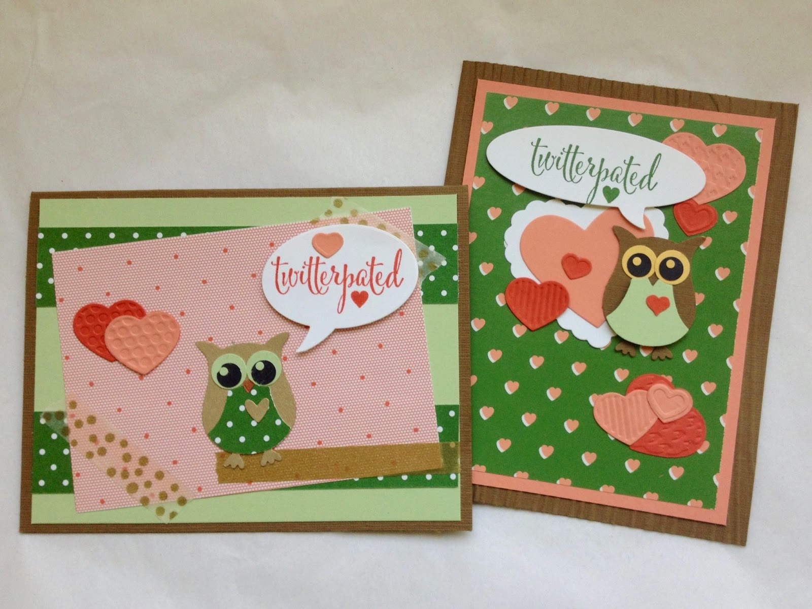 Owl Builder Punch Gold Soiree DSP Stampin Up You Plus Me Occasions 2015