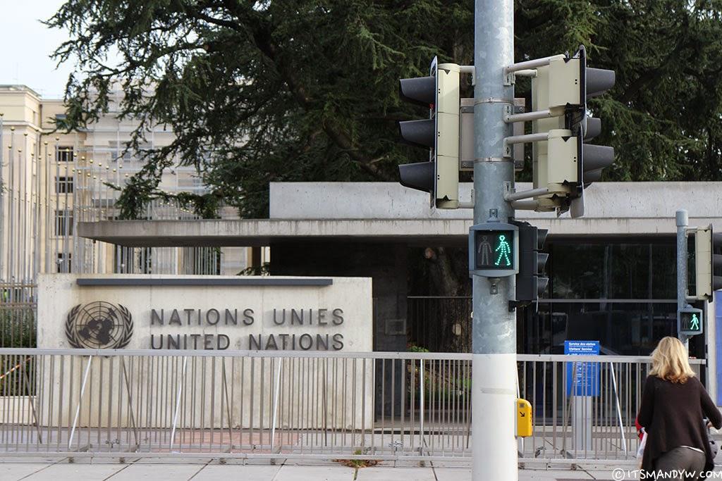 【瑞士】世界大同的夢想是否只掛在嘴邊 - 聯合國歐洲總部