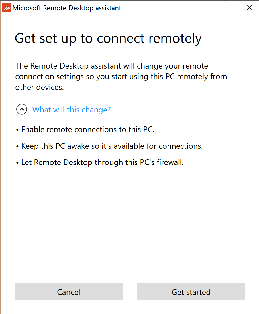how to set up a computer to allow remote desktop