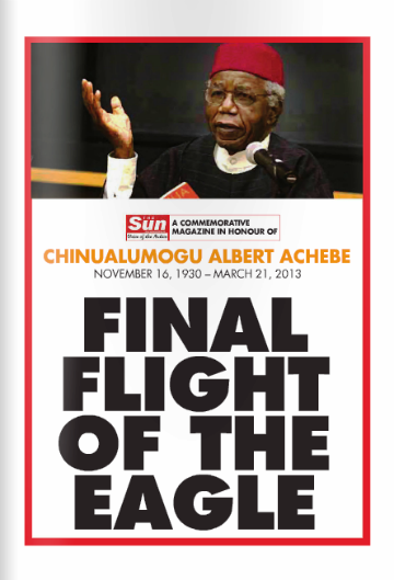 E-BOOK: THE FLIGHT OF THE EAGLE; WHEN THE EAGLE ON THE IROKO TOOK HIS FINAL FLIGHT ...