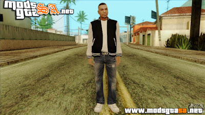 SA - Skin Luis do GTA IV