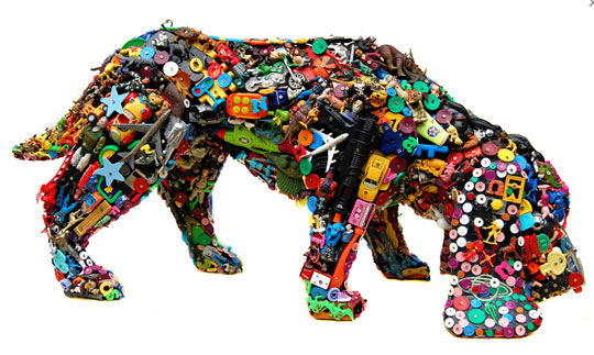 examples of trash art�