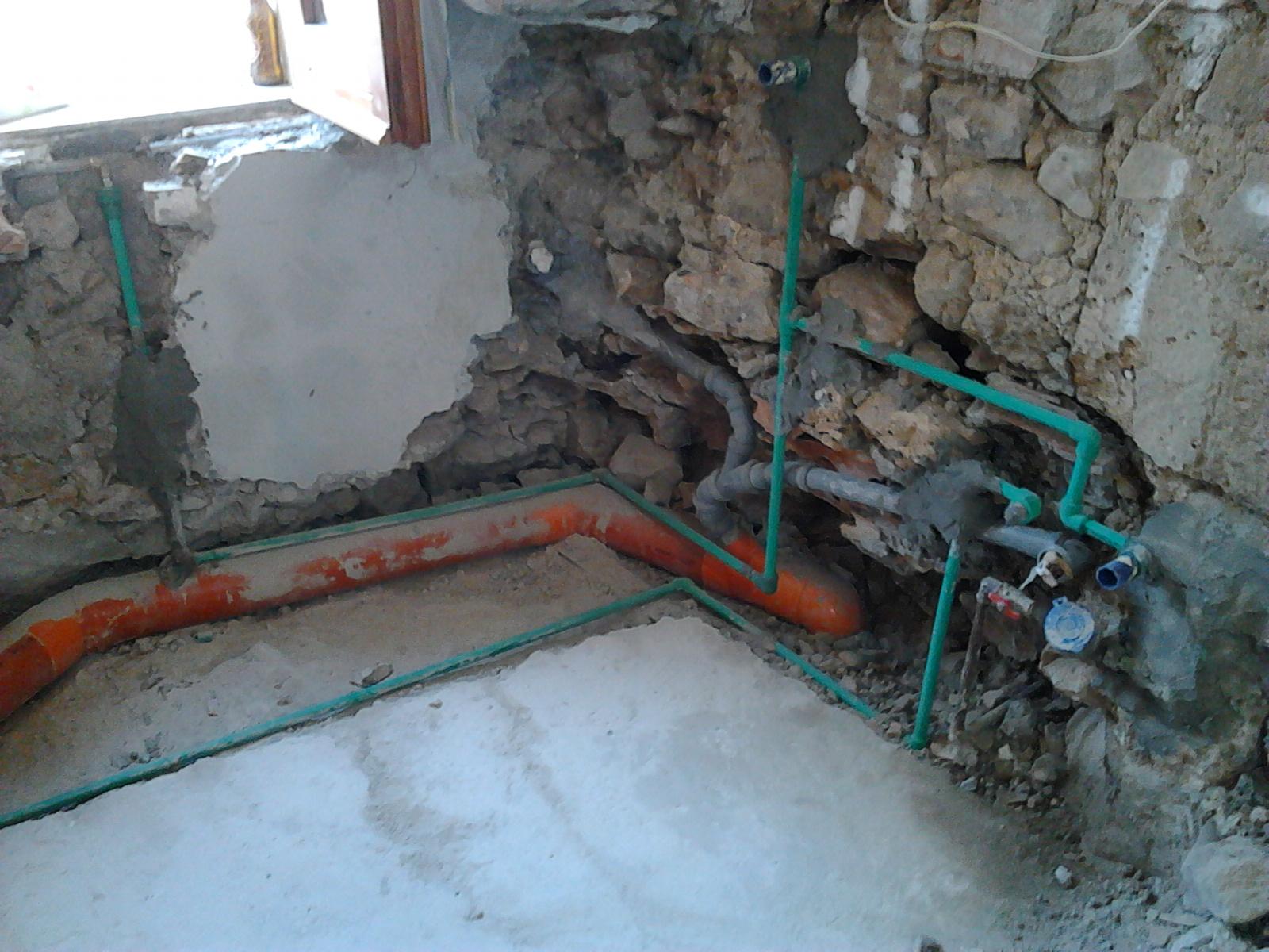 Il blog dell 39 idraulico tubo polipropilene saldato - Impianto di scarico bagno ...