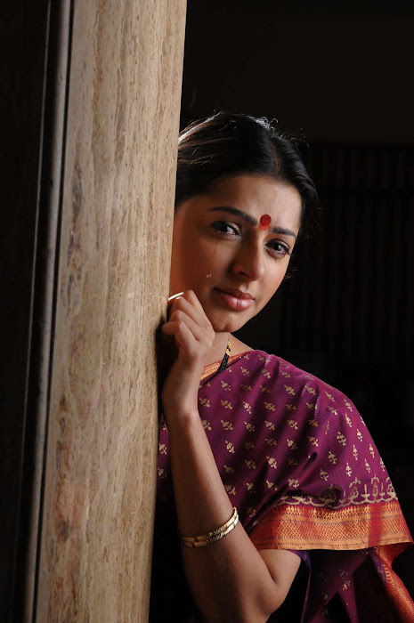 bhumika chawla in saree glamour  images