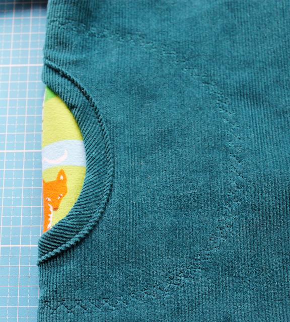 Herbstkind sew-along: Taschen mit Schrägband versäubert