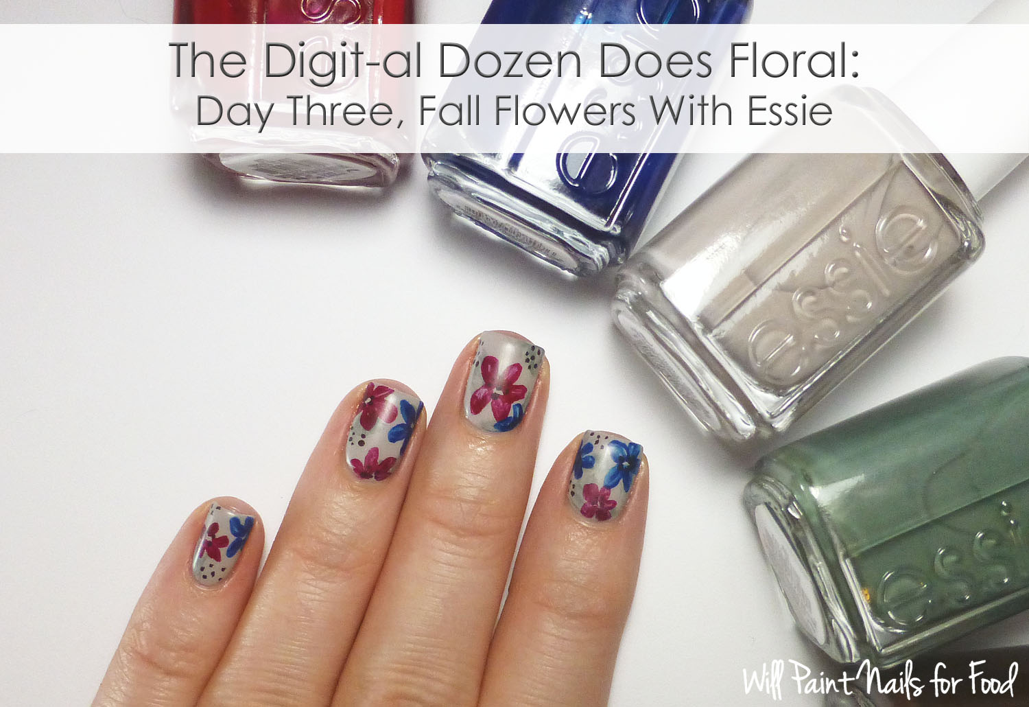 Essie Fall 2014 flowers