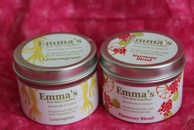 New irish brand alert emma 39 s eco soy candles lovely for Best scented candle brands