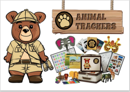 My new Obsession. LOVE LOVE LOVE Animal Trackers Club