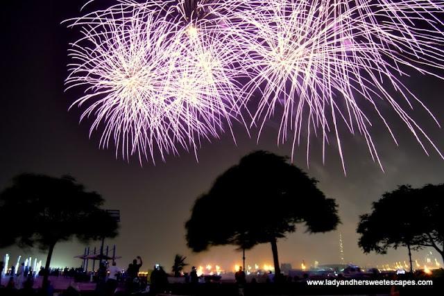 Eid Fireworks in Dubai Festival City