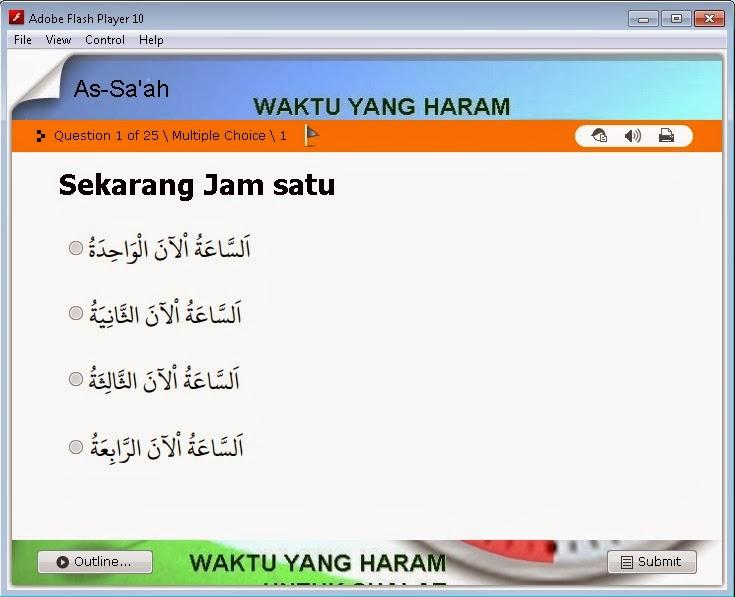 Quiz Mengenal Jam Sdit Wahdatul Ummah Metro